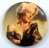 Marilyn Monroe - 'Negligee' 32mm Badge